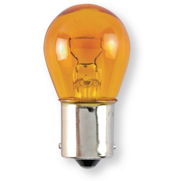 Lampe graisseur orange 12V 21W Bau15s